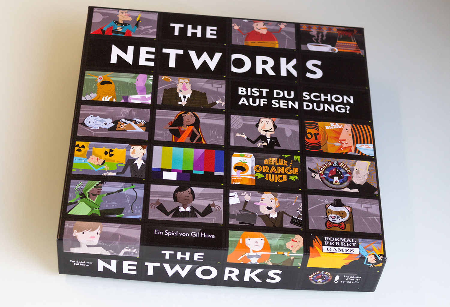 Test: The Networks  - Deutsche Version