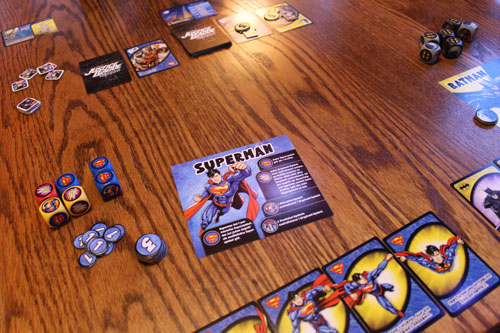 Justice League Hero Dice im Test, Würfelspiel, DC Comics, Marvel, Rezension, Spieltest