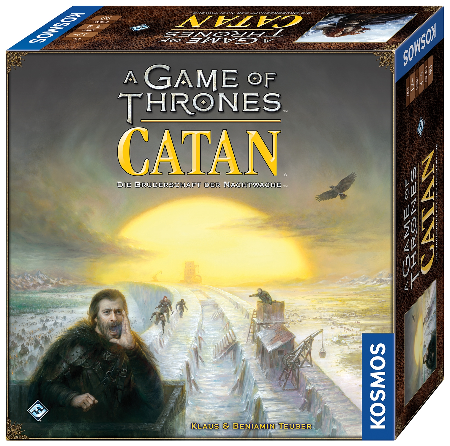 Kosmos kündigt A Game of Thrones CATAN für Oktober 2017 an