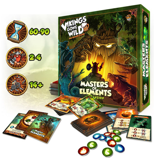 Vikings Gone Wild: Masters of Elements kommt in die Spieleschmiede
