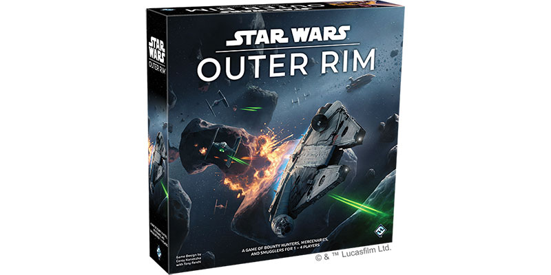 Star Wars // Star Wars: Outer Rim von Fantasy Flight Games angekündigt