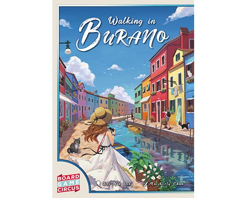 SPIELESCHMIEDE // Walking in Burano
