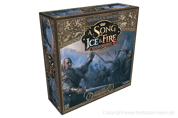 A SONG OF ICE & FIRE // Freies Volk – Starter-Set bald im Handel