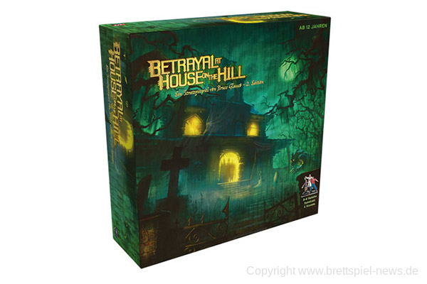 BETRAYAL AT HOUSE ON THE HILL // Erscheint in Deutschland zur SPIEL'19