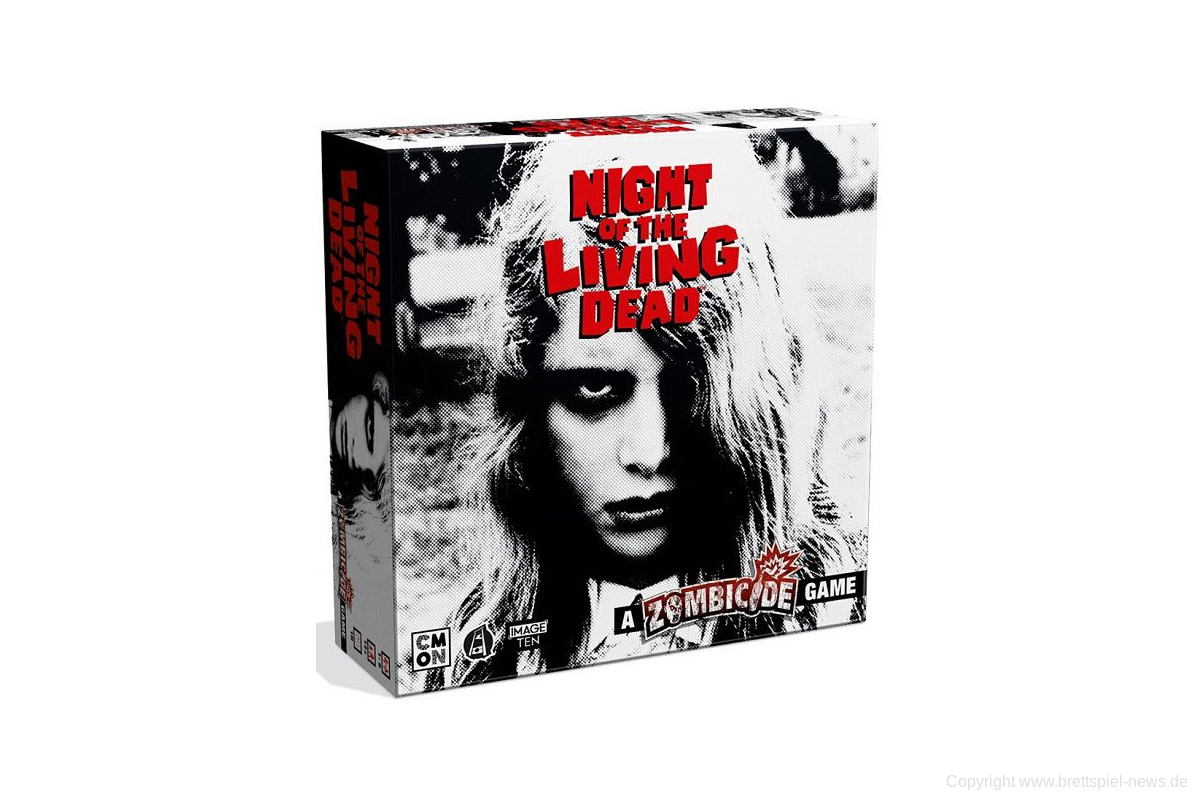 KICKSTARTER // Night of the Living Dead: A Zombicide Game
