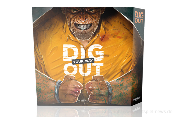 KICKSTARTER // Dig Your Way Out auch in deutscher Sprache