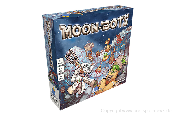 MOON-BOTS // Neues Familienspiel von Blue Orange