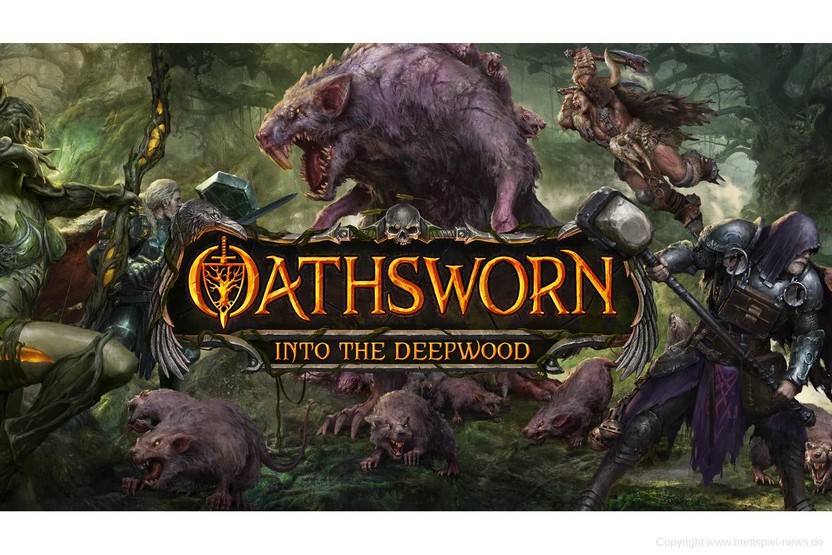 KICKSTARTER // OATHSWORN: Into the Deepwood
