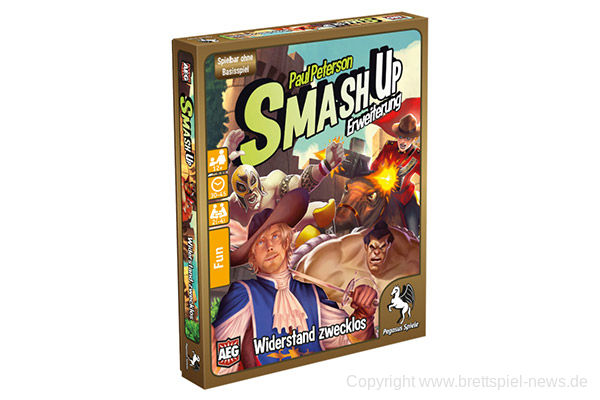 SMASH UP // Widerstand zwecklos …