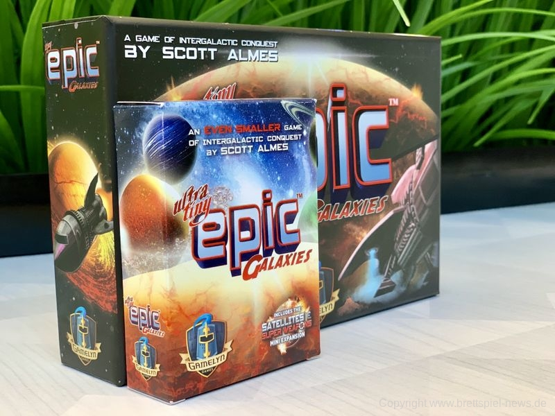 ULTRA TINY EPIC GALAXIES // Kickstarter ab dem 9.8.2019