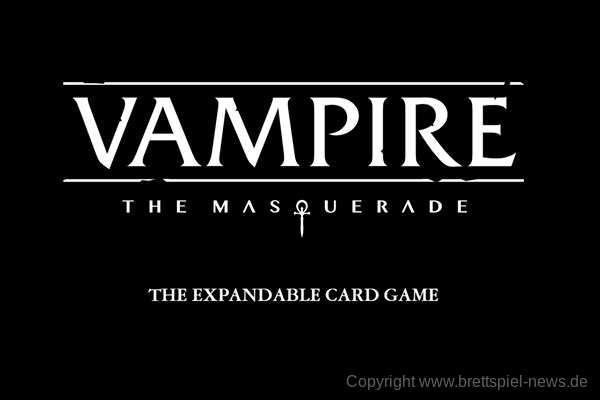 VAMPIRE: THE MASQUERADE // The Expandable Card Game angekündigt