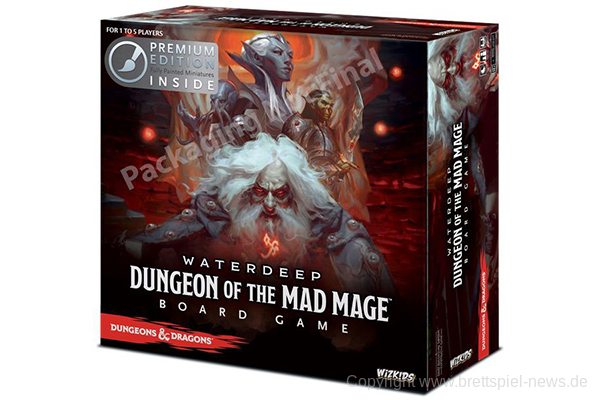 WATERDEEP // Dungeon of the Mad Mage erscheint bei WizKids