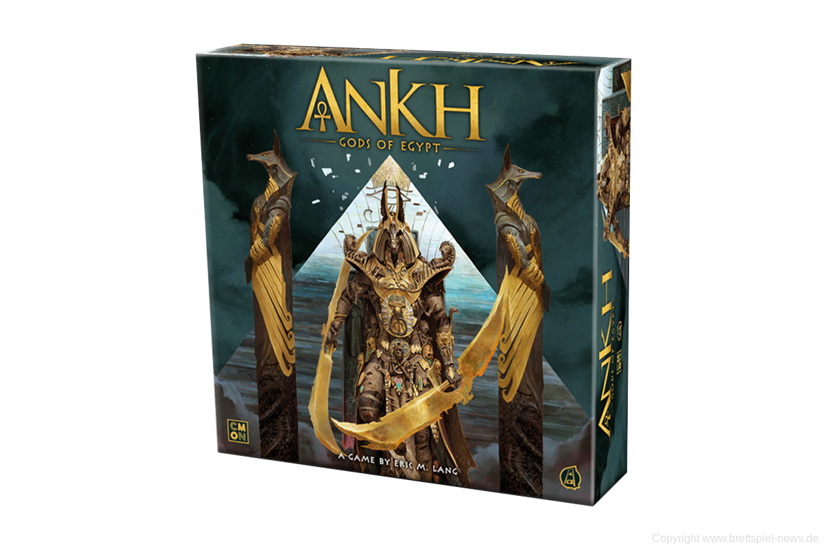 ANKH: GODS OF EGYPT // Startet am 14. April auf Kickstarter