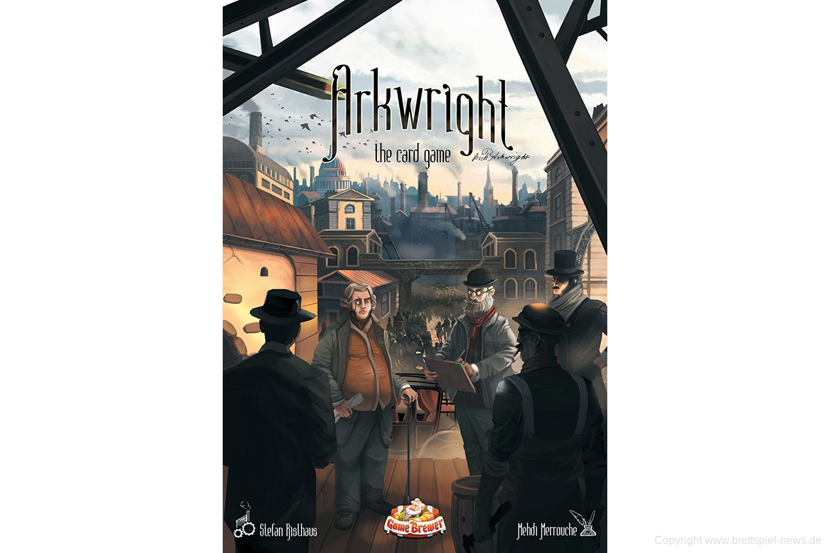 ARKWRIGHT: THE CARD GAME // startet am 10.8. auf Kickstarter