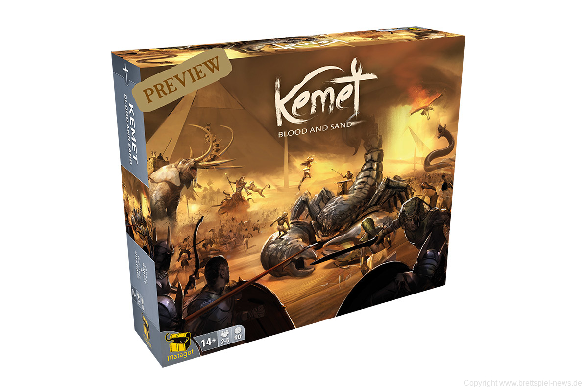 KICKSTARTER // KEMET: BLOOD AND SAND
