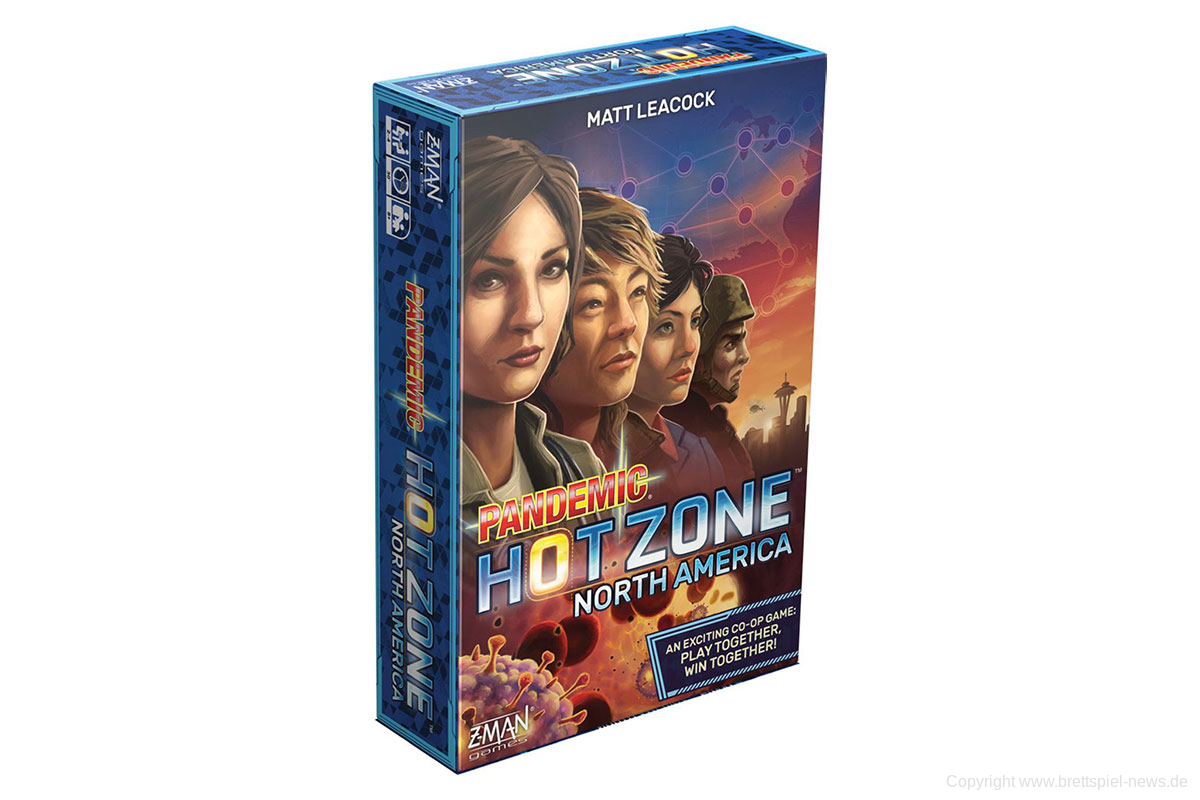 PANDEMIC: HOT ZONE – NORD AMERIKA // Kostenloses Print & Play