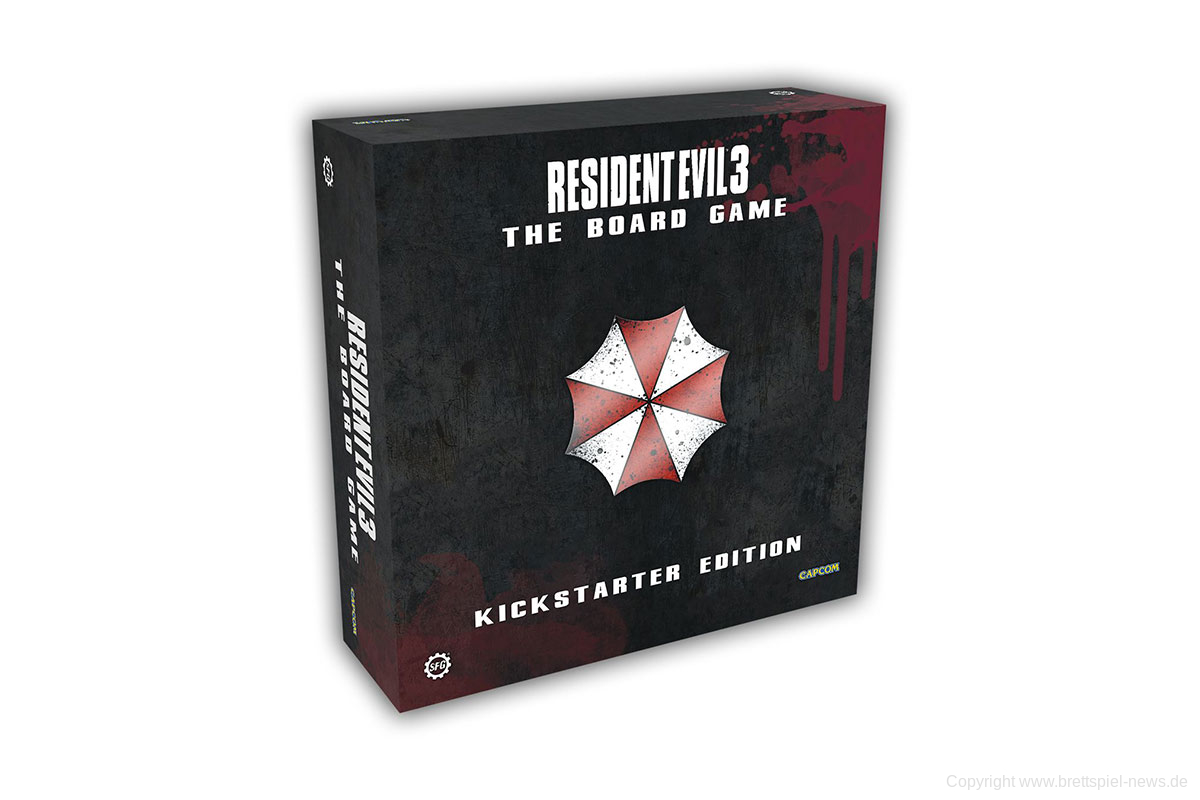 KICKSTARTER // RESIDENT EVIL 3: THE BOARD GAME