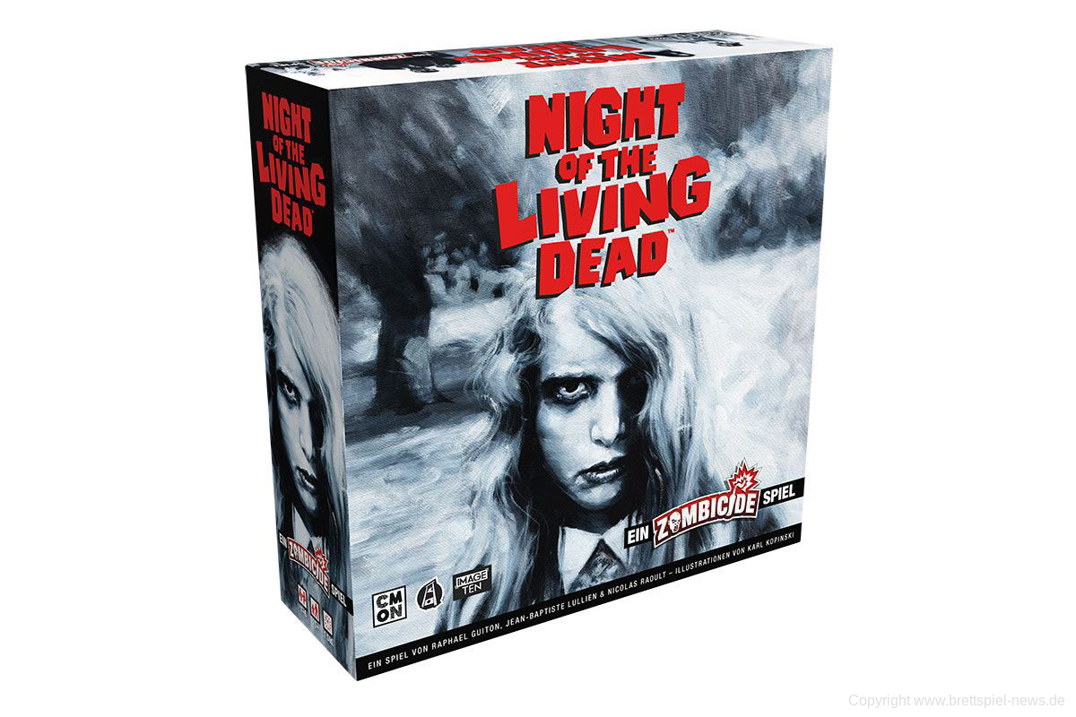 ZOMBICIDE // Night of the Living Dead bald im Handel