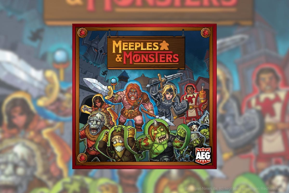 MEEPLES AND MONSTERS // Erscheint 2022 bei AEG