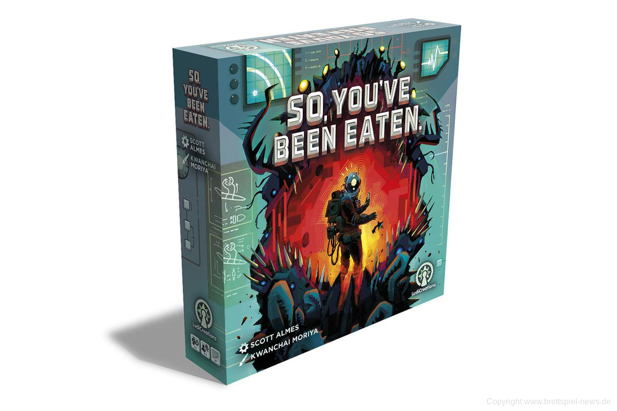 SO YOU'VE BEEN EATEN. // erscheint 2021