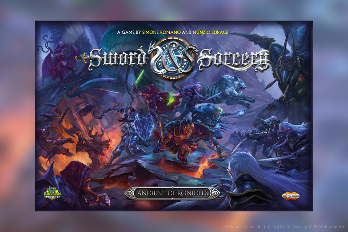 SWORD & SORCERY: ANCIENT CHRONICLES // soll im April erscheinen