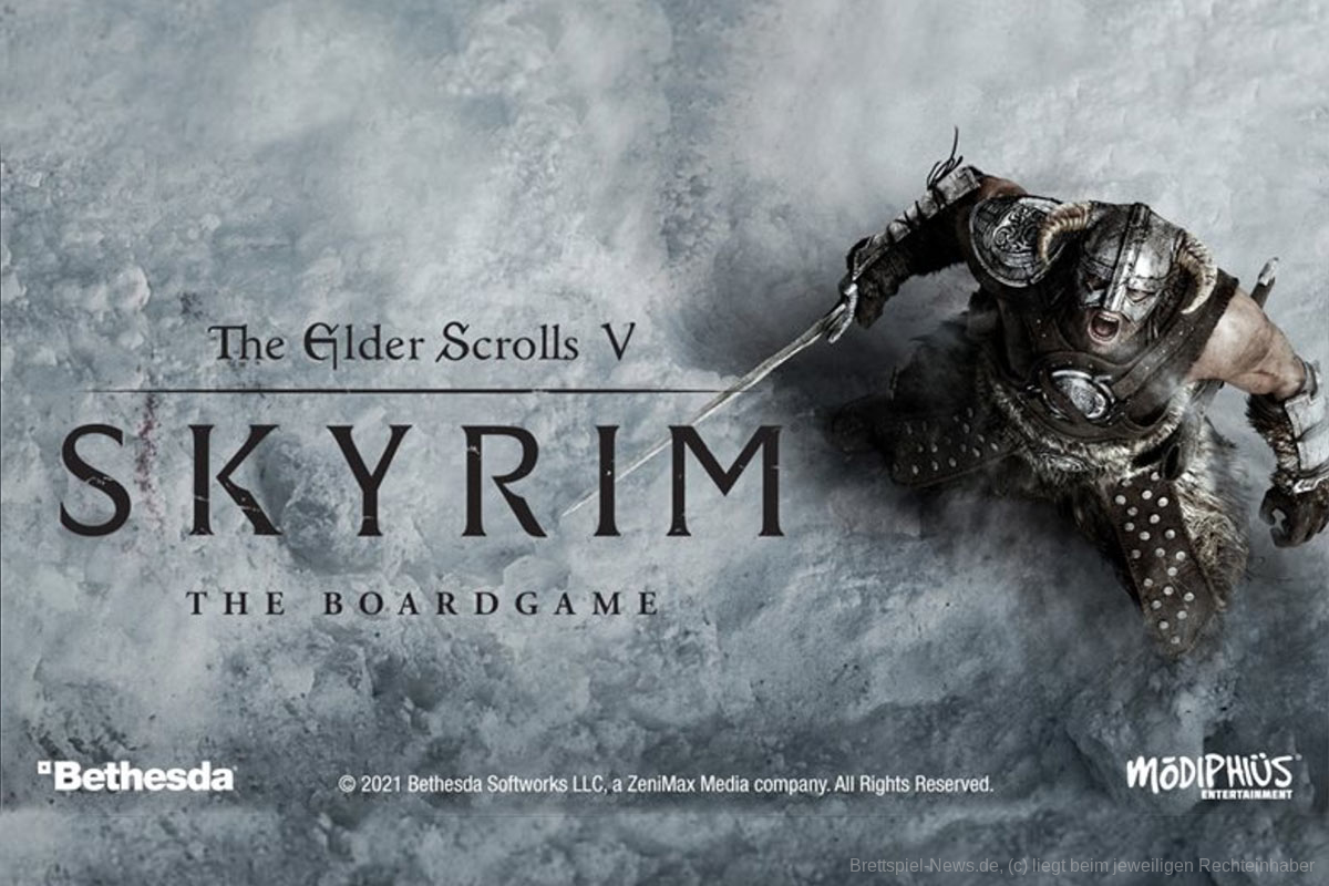 THE ELDER SCOLLS V: SKYRIM BOARD GAME // startet 2021 auf Gamefound