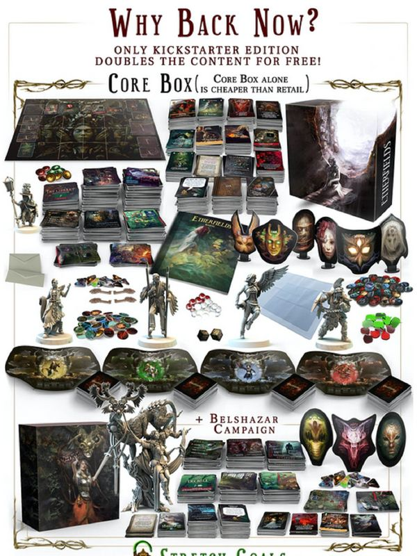 Ehterfields core box neu