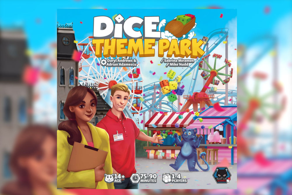 DICE THEME PARK // 2021 bei ALLEY CAT GAMES