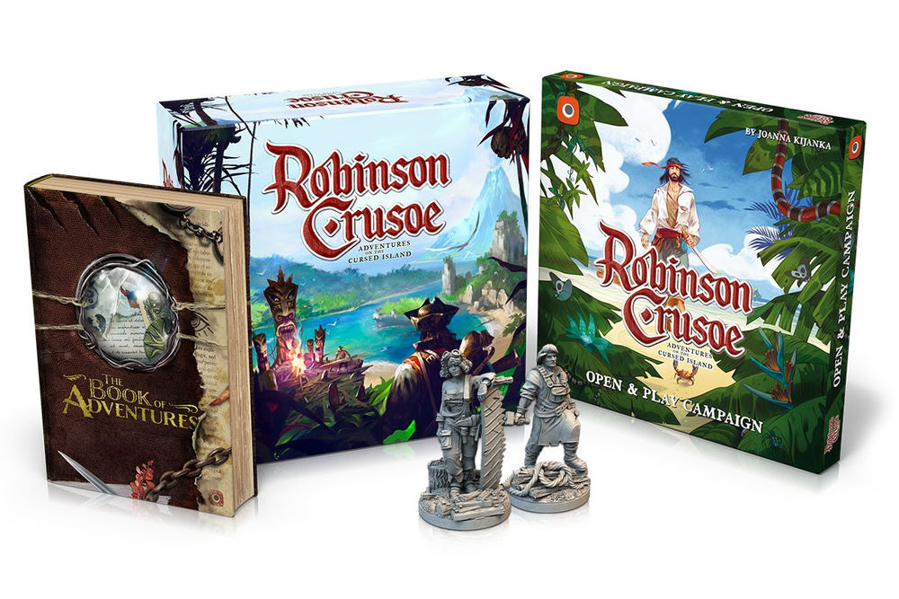 ROBINSON CRUSOE - COLLECTOR'S EDITION