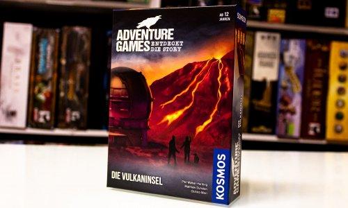 ADVENTURE GAMES // Die Vulkaninsel jetzt verfügbar