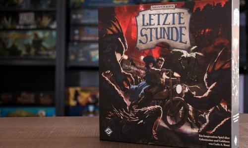 ARKHAM HORROR - LETZTE STUNDE // Bilder vom Spielmaterial
