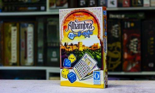 ALHAMBRA ROLL & WRITE // Bilder des Spielmaterials