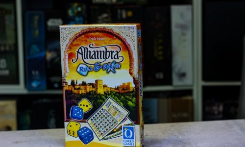 TEST // ALHAMBRA ROLL & WRITE