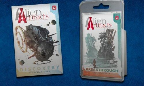 TEST // ALIEN ARTIFACTS - DISCOVERY und BREAKTHROUGH