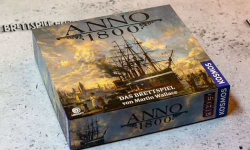 ANNO 1800 // Bilder vom Brettspiel