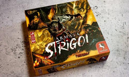 ARMATA STRIGOI // Bilder vom Powerwolf Brettspiel