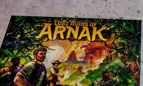 LOST RUINS OF ARNAK // Bilder des Spielmaterials