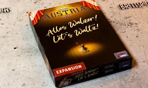 GRAND AUSTRIA HOTEL // ALLES WALZER! - erste Bilder