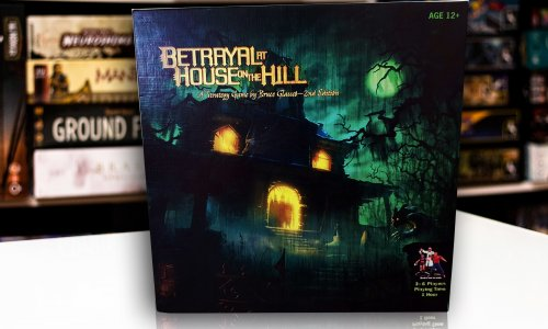 TEST // BETRAYAL AT HOUSE ON THE HILL (engl.)