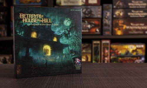 BETRAYAL AT HOUSE ON THE HILL (dt.) // Bilder vom Spielmaterial