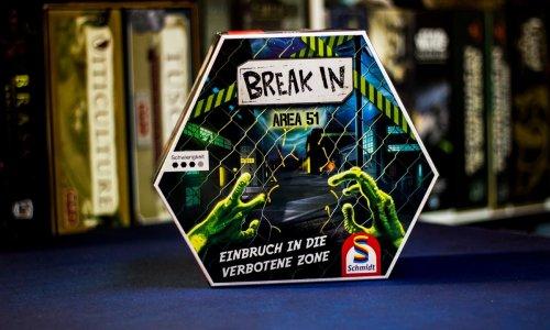 TEST // BREAK IN - AREA 51