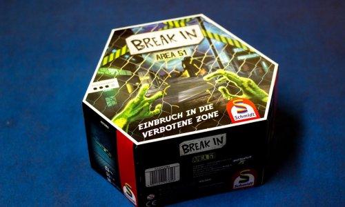BREAK IN – AREA 51 // Bilder des Spielmaterials