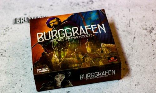 BURGGRAFEN DES WESTFRANKENREICHS // Bilder vom Spiel