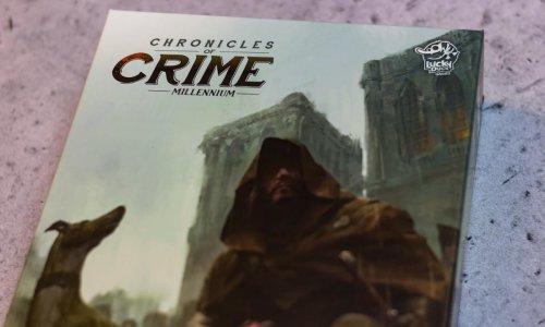 CHRONICLES OF CRIME: 1400 // Bilder des Spielmaterials