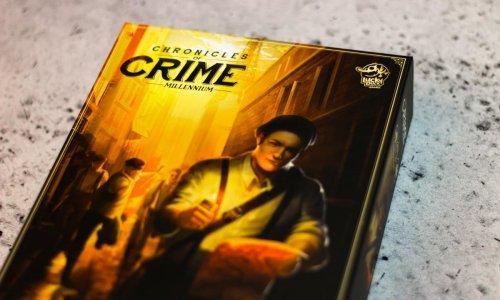 CHRONICLES OF CRIME: 1900 //  Bilder des Spielmaterials