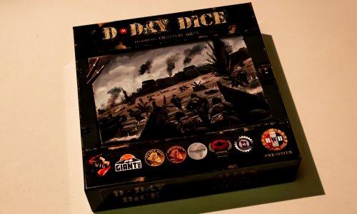 D-DAY DICE 2nd Edition // Bilder vom Spielmaterial