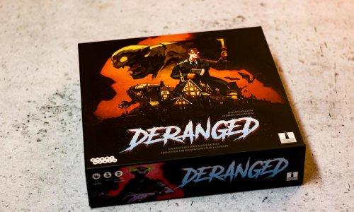 DERANGED // Bilder des Spielmaterials