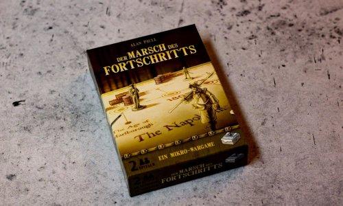 DER MARSCH DES FORTSCHRITTS // Bilder vom Spiel