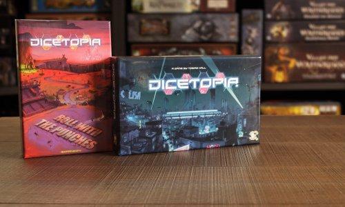 DICETOPIA // Bilder vom Spielmaterial