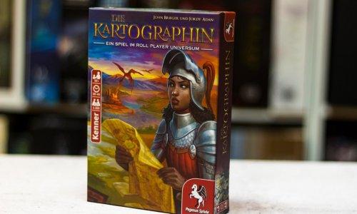 DIE KARTOGRAPHIN // ist veröffentlicht